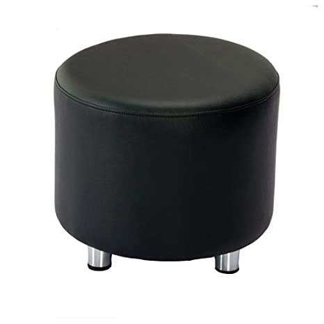 Strange Amazon Com Jjxzm Footstool Round Footrest Pier Ottoman Machost Co Dining Chair Design Ideas Machostcouk