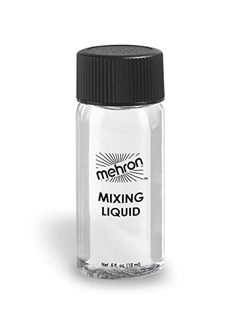 Amazon.com : Mehron Makeup GlitterDust with Free Mini Mixing Liquid (Gold and Silver) : Beauty