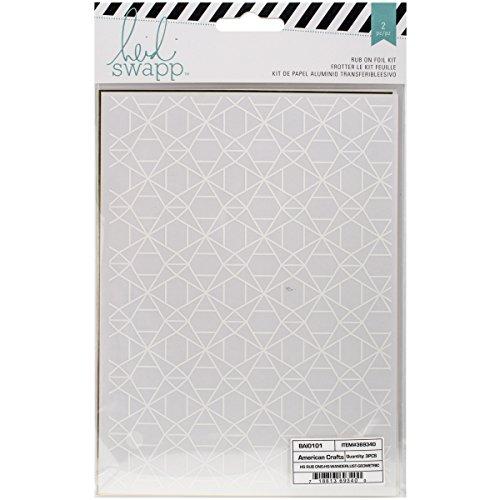 - Heidi Swapp Rub Ons & Foil Kit Geometric