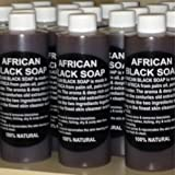 Pure 100 % Authentic Liquid African Black Soap From Ghana Three Size to Choose From