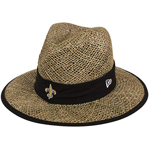 Field Natural - New Era Men's NFL Natural On Field Training Camp Hat (New Orleans Saints)