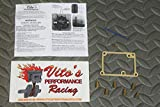 Vito's Yamaha Blaster Full Jet Kit - 6 Main Jets, Pilot, Vito's Blue Needle