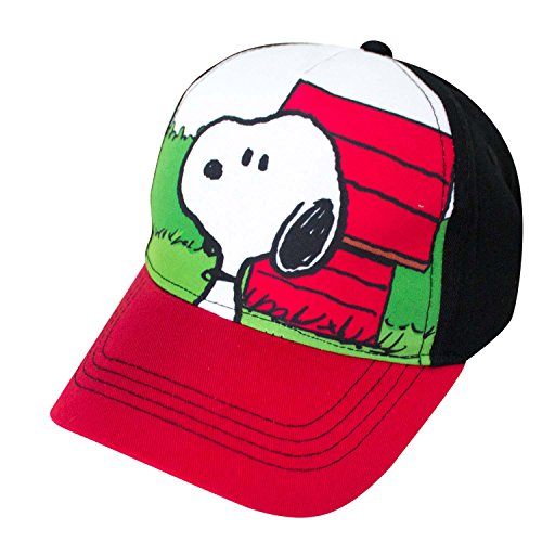 Snoopy Kids Snapback Cap Standard Red -