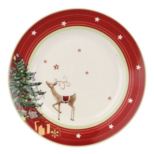 "Spode Jubilee 8"" Salad Plate Red Band"