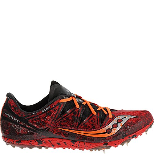 Saucony Men's Carrera XC Cross Country Racing Shoe, Red/Orange, 13 M - Racing Ap Shop