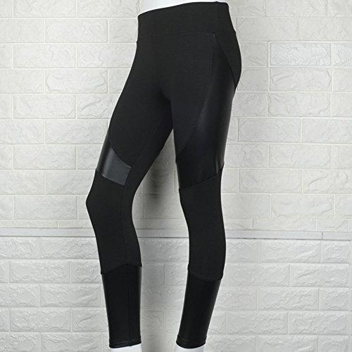 Patchwork Push Up Pantalones De Yoga Mujer Talle Alto Polainas Flaco