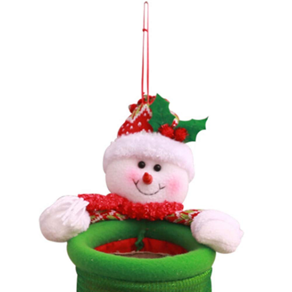 Amazon Com Keebgyy Christmas Cartoon Trash Christmas Decorations