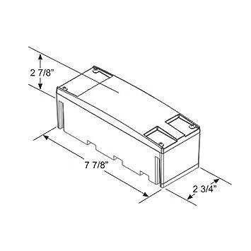 Amazon Com Zxlight Led Rectangular Low Profile Submersible Stop