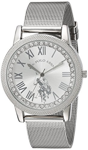 U.S. Polo Assn. Women's Quartz Metal and Alloy Casual Watch, Color:Silver-Toned (Model: - Watch Polo Big