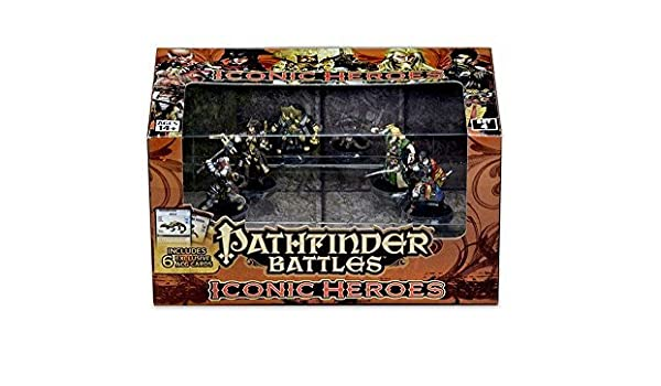 Pathfinder Battles: Iconic Heroes Set 4 by WizKids: Amazon ...