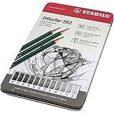 Lápis Técnico, Sertic 54.8500, Multicor, Pacote com 12 Unidades