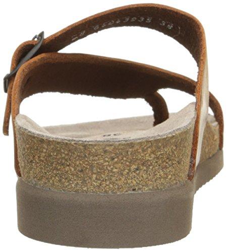 Mephisto HELEN ETNA 7103 GREY P5046230 - Sandalias de cuero para mujer Chestnut