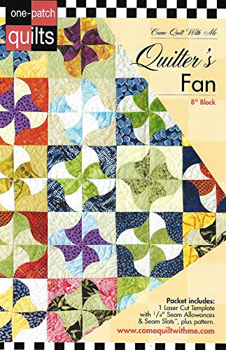 Come Quilt with Me Template - Quilter's Fan 8