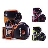 Sanabul Essential Gel Boxing Gloves Essential Boxing Gloves Orange 8-oz