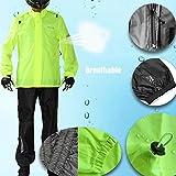 Asian Size Motorcycle Rain Suit,Hi Viz Reflective