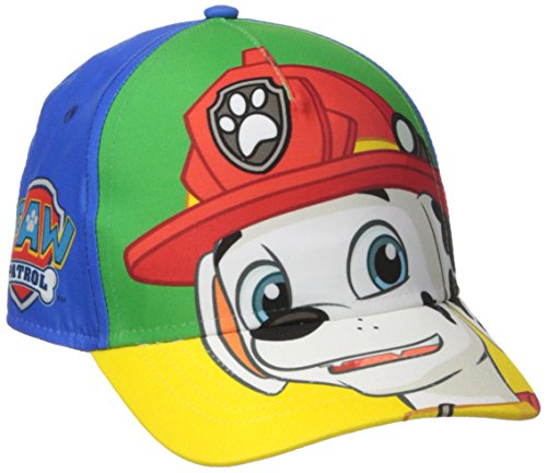 Paw Patrol Boys' Toddler Boys' Marshall Baseball Cap, Multi, 2-4T