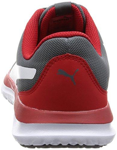Puma Unisex-Erwachsene Flext1 Sneaker Grau (quiet shade-puma white 04)
