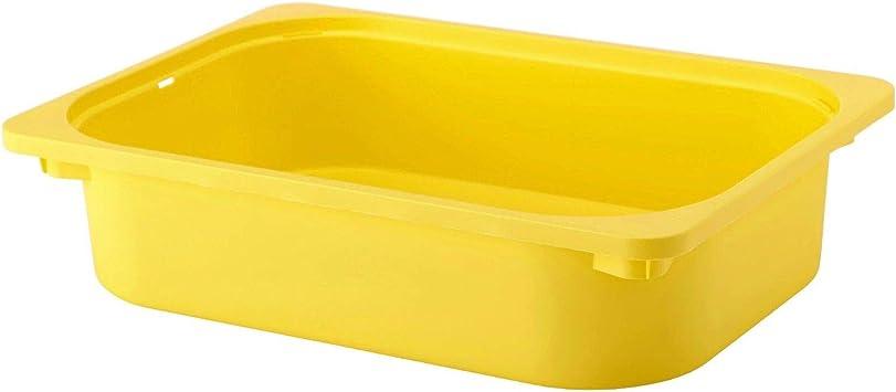 IKEA TROFAST - Caja de almacenaje Amarillo: Amazon.es: Bricolaje y herramientas