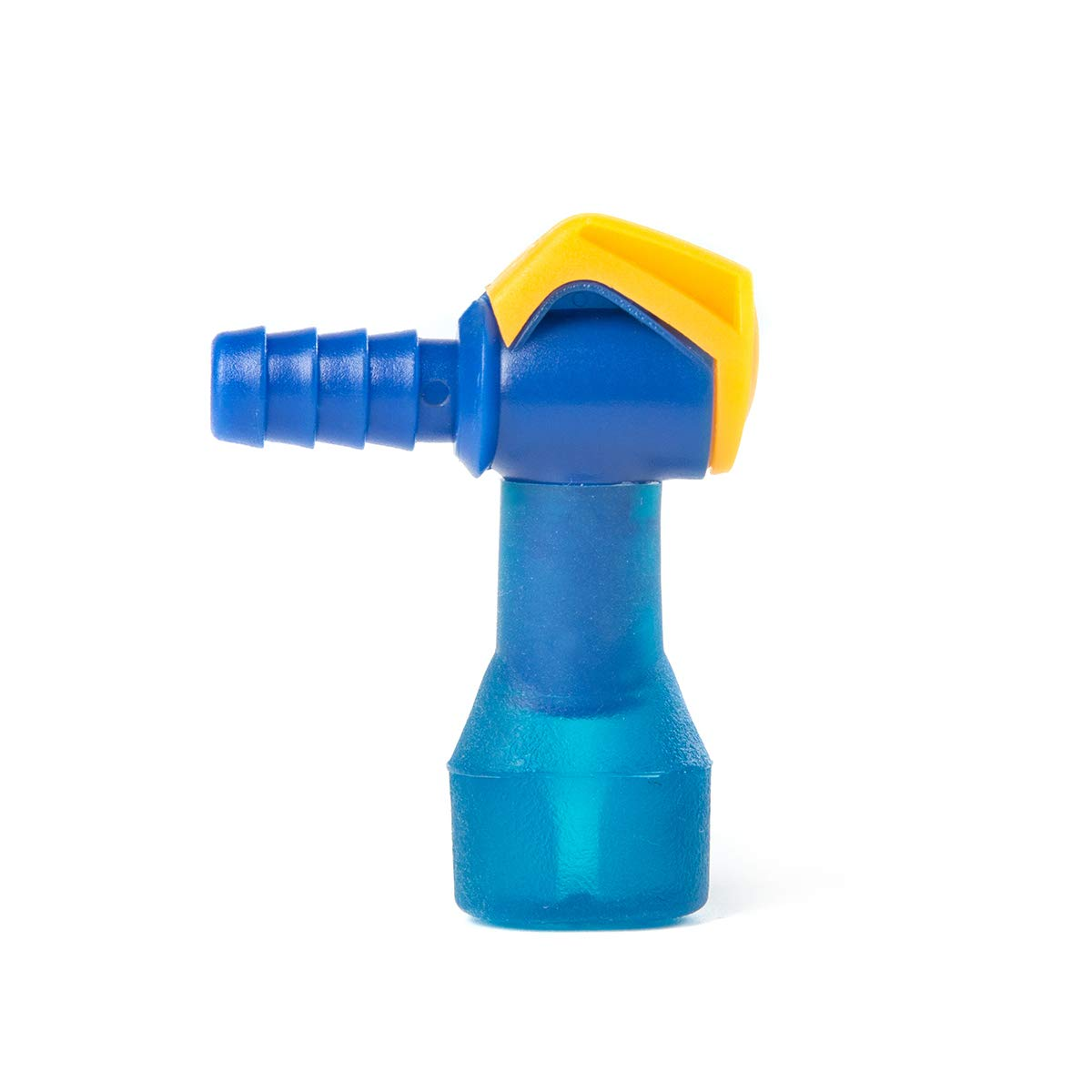 J.CARP ON-Off Switch Bite Valve Tube Nozzle Replacement for Hydration Pack Bladder, 90 Degree New Model