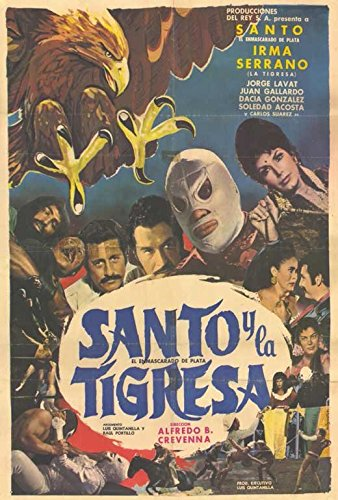 Santo y el aguila real Poster Movie Spanish
