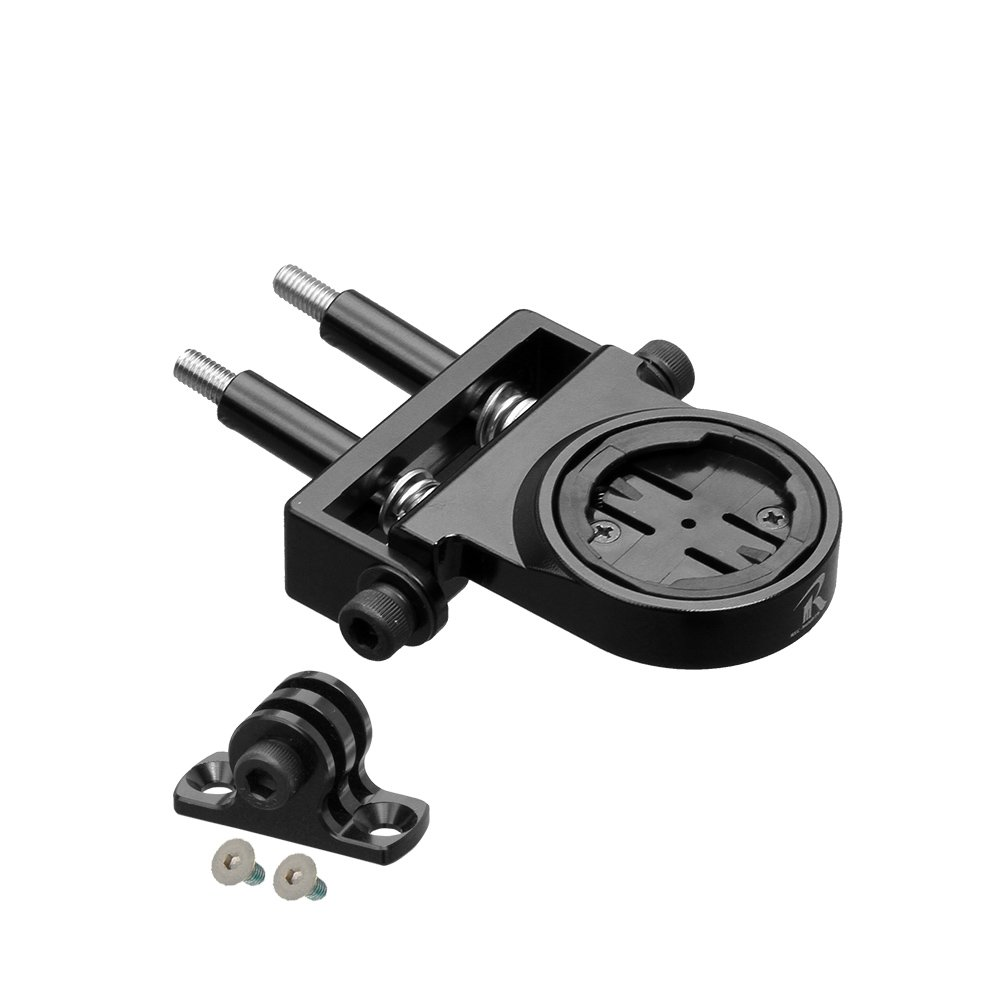 REC-MOUNTS wahoo ELEMNT Combo Mount Bolt clamp type (M5 Stem bolt ,With the lower part adapter) [WAH-BOLT17+GP]