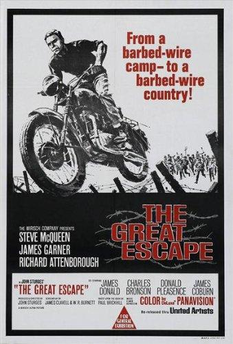 The Great Escape Poster Australian 27x40 Tom Adams Steve McQ