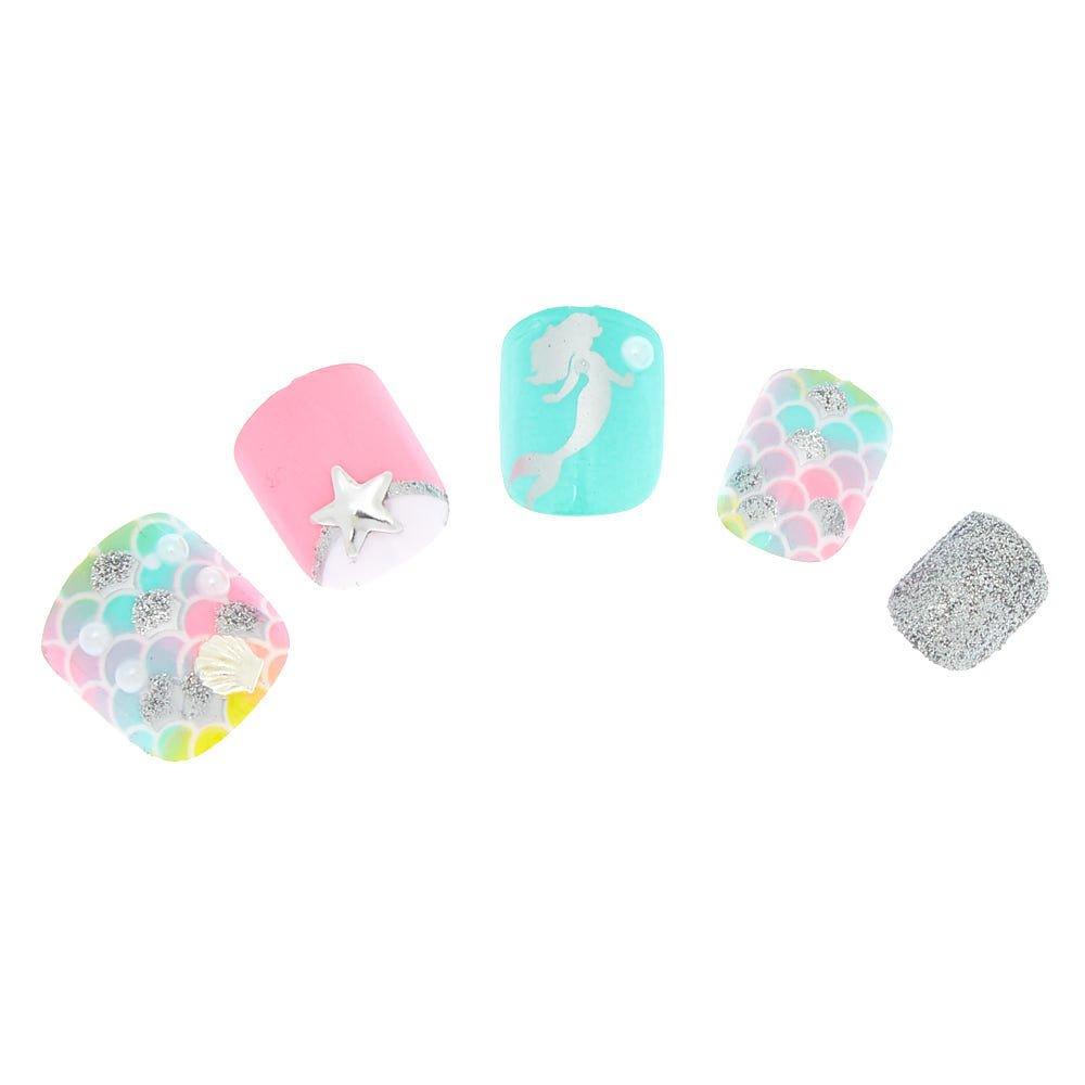 Amazon.com: Claires s Pastel - Clavos de sirena para niña ...