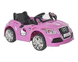 Amazon Com Hello Kitty 8802 73 6v Sports Car Ride On