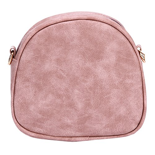 PU Messenger Pink Women Shoulder Bags Fashion Retro Domybest Crossbody Leather New aqwZBfxpt