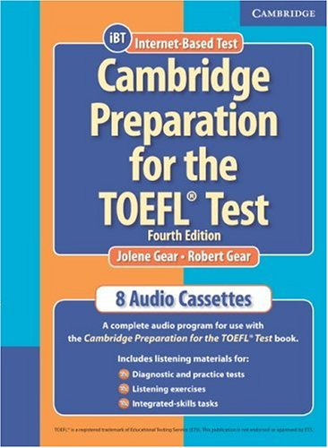 Cambridge Preparation for the TOEFL® Test Audio Cassettes (Cambridge Preparation for the TOEFL Test) Pdf