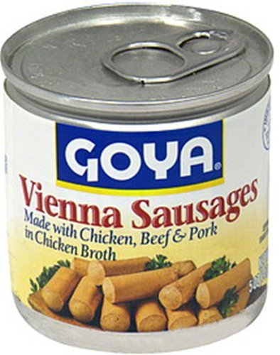 Goya Foods Vienna Sausages, 5-Ounce (Pack of 48) by Goya