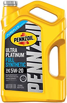 Pennzoil Ultra Platinum 5-Qt. 5W-20 Full Synthetic Motor Oil