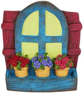 Miniatura Jardín de hadas gitana colgar Glow ventana: Amazon.es: Jardín