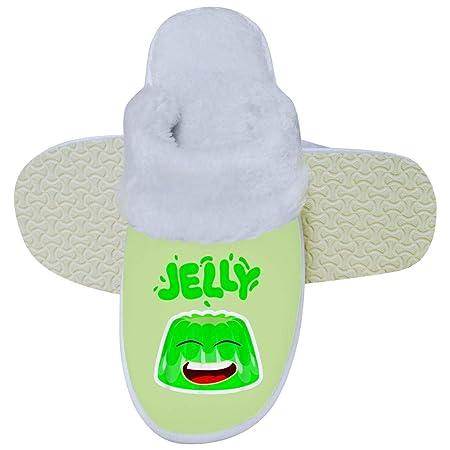 YFFHHH J-Elly Merch Pantuflas de algodón para Interiores y ...