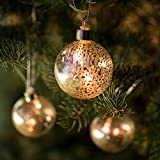 String Lights, LED Mercury Glass Ball Ornaments, 4.6ft - Best Reviews Guide