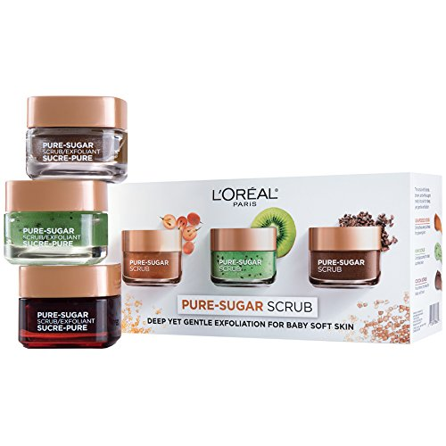 L'Oreal Paris Skin Care Pure Sugar Scrub for Face and Lips