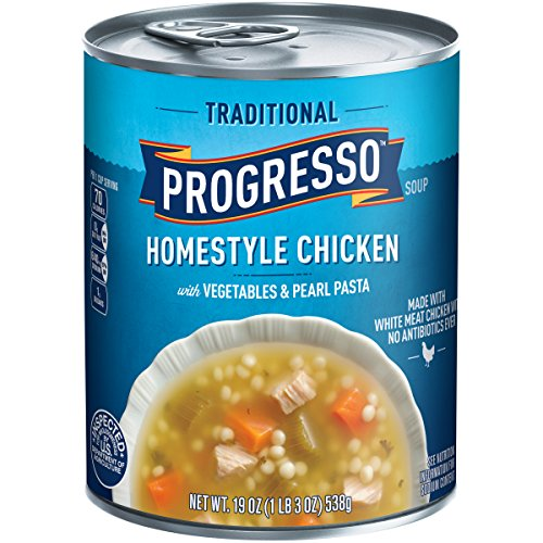 Progresso Traditional Soup, Chicken, Vegetables & Pasta, 19 Ounce