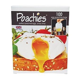 Poachies Egg poaching Bags, 17 x 13.5 x 3 cm by Poachies
