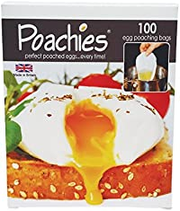 Poachies Egg poaching Bags, 17 x 13.5 x 3 cm, Pack of 100