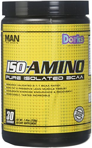 MAN Sports 30/Servings Dorks Iso-Amino, 7.41 Ounce