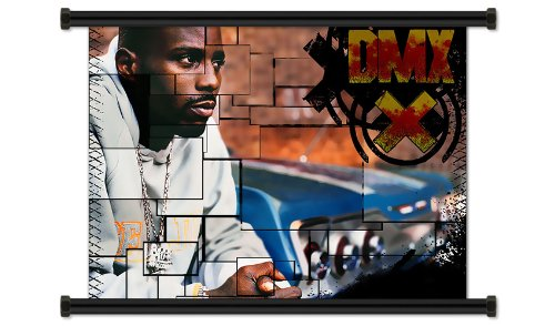 (DMX Hip Hop Rap Artist Fabric Wall Scroll Poster (32