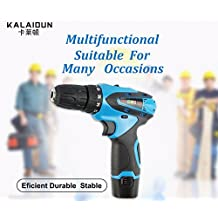 Electric Drill Power Tools Electric Screwdriver Lithium Battery Cordless Drill Mini Drill Hand Tools 12V
