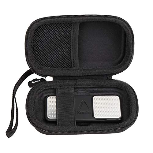 Aproca Hard Protective Case Compatible Alivecor KardiaMobile EKG Monitor Captures Heart Rate (Black)