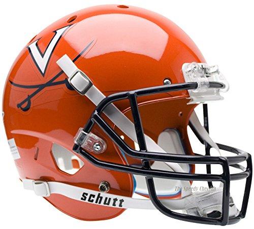 Virginia Cavaliers Orange Officially Licensed Full Size XP Replica Football Helmet