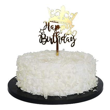 Superb 10Pcs Glitter Cake Topper Star Heart Crown Birthday Party Wedding Funny Birthday Cards Online Elaedamsfinfo