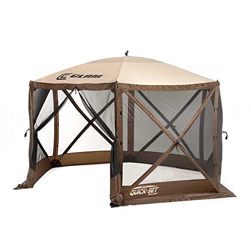 Cheap  Quick-Set 9879 Escape Shelter, 140 x 140-Inch Portable Popup Gazebo Durable Tent..