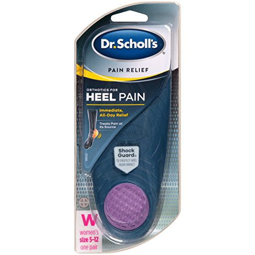 Spur Heel Pain (Dr. Scholl's Pain Relief Orthotics for Heel for Women, 1 Pair, Size 5-12)