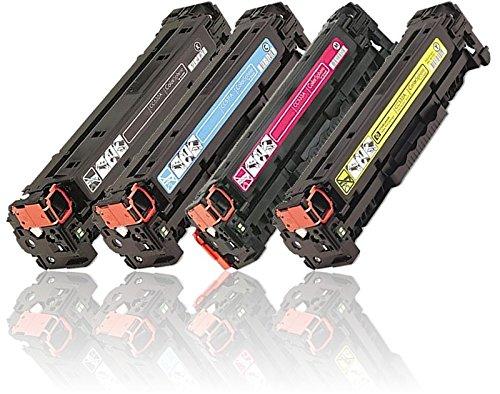 HD® Toner 4PK (one of each color) HP 305A CE410A CE411A CE412A CE413A Toner Set for HP LaserJet M351 M375 M475
