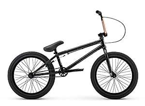Redline Asset 20 Inch Freestyle BMX Bike, Black