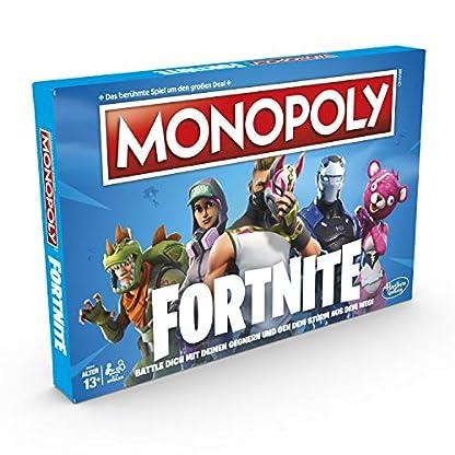 Hasbro Monopoly E6603100 Monopoly Fortnite Edition, Familienspiel, Multicolor 4